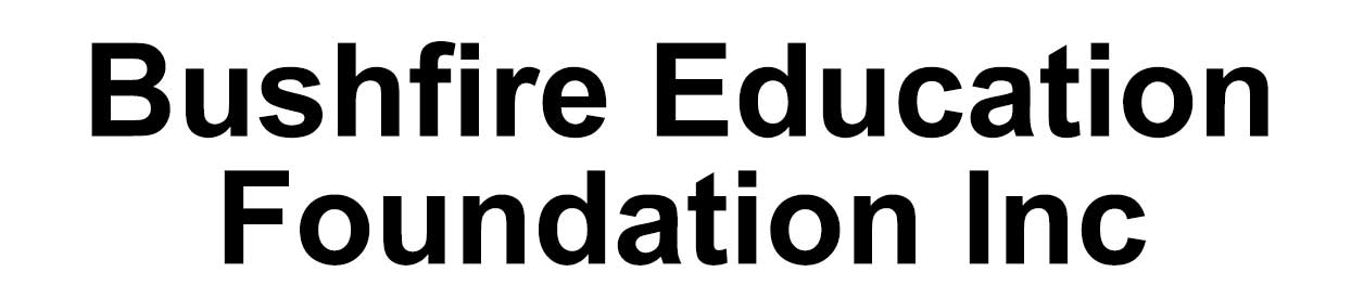 Bushfire Education Inc Logo
